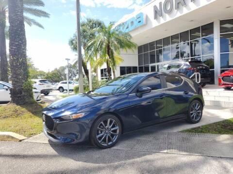 2020 Mazda Mazda3 Hatchback for sale at Mazda of North Miami in Miami FL