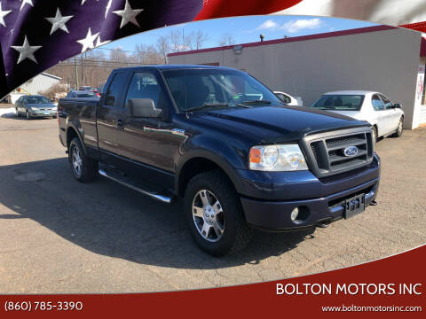2006 Ford F-150 for sale at BOLTON MOTORS INC in Bolton CT