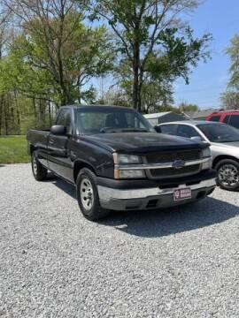 2005 Chevrolet Silverado 1500 for sale at Doyle's Auto Sales and Service in North Vernon IN