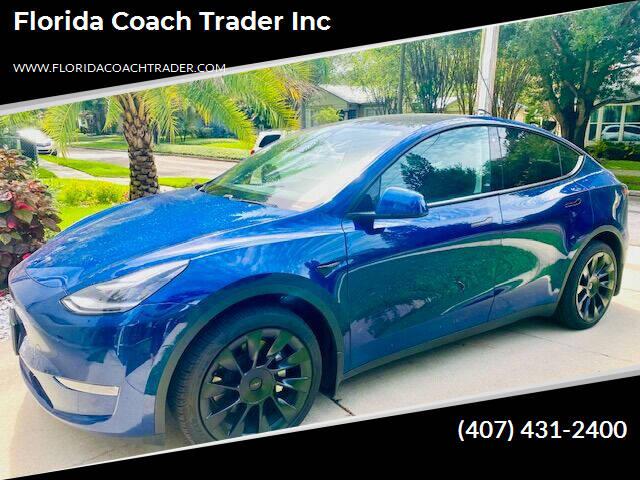 2020 Tesla Y for sale at Florida Coach Trader Inc in Tampa FL