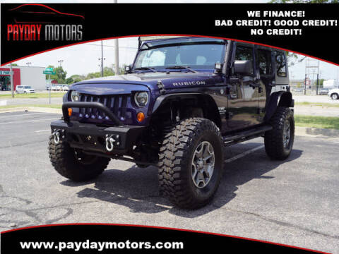 2013 Jeep Wrangler Unlimited for sale at Payday Motors in Wichita KS