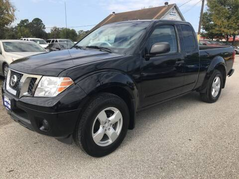 2019 Nissan Frontier for sale at AMIGO USED CARS in Houston TX