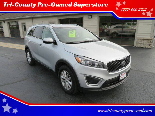 2017 Kia Sorento for sale at Tri-County Pre-Owned Superstore in Reynoldsburg OH