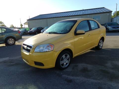 2010 Chevrolet Aveo for sale at Creech Auto Sales in Garner NC