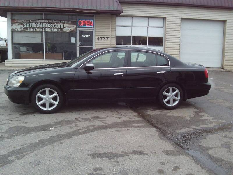 2002 Infiniti Q45 for sale at Settle Auto Sales TAYLOR ST. in Fort Wayne IN