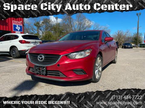 2016 Mazda MAZDA6 for sale at Space City Auto Center in Houston TX