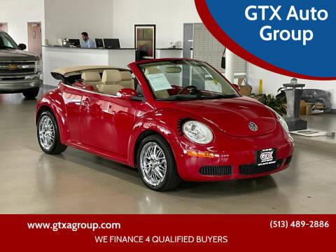 2010 Volkswagen New Beetle Convertible for sale at GTX Auto Group in West Chester OH