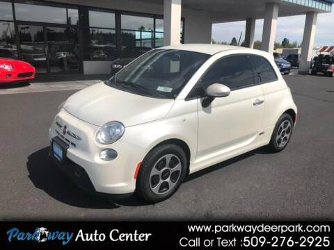 2015 FIAT 500e for sale at PARKWAY AUTO CENTER AND RV in Deer Park WA