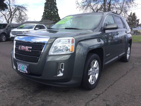2013 GMC Terrain for sale at Pacific Auto LLC in Woodburn OR