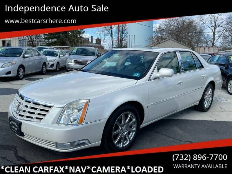 2007 Cadillac DTS for sale at Independence Auto Sale in Bordentown NJ