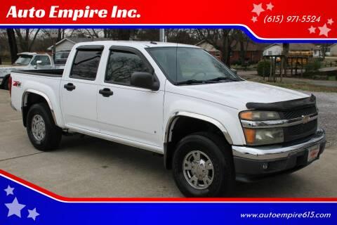 2007 Chevrolet Colorado for sale at Auto Empire Inc. in Murfreesboro TN