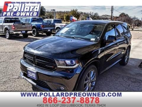 2017 Dodge Durango for sale at South Plains Autoplex by RANDY BUCHANAN in Lubbock TX