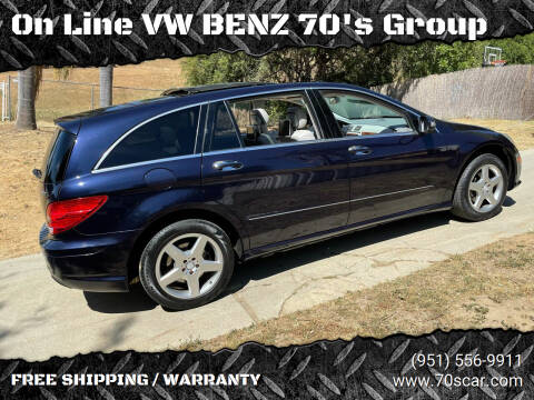 2010 Mercedes-Benz R-Class for sale at On Line VW BENZ 70's Group in Warehouse CA