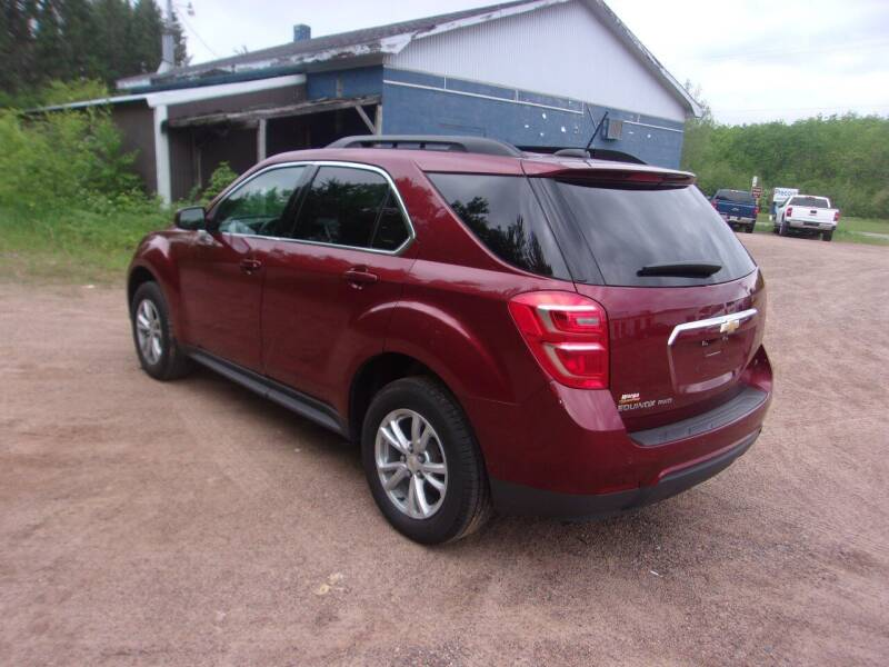 2017 Chevrolet Equinox for sale at Warga Auto and Truck Center in Phillips WI