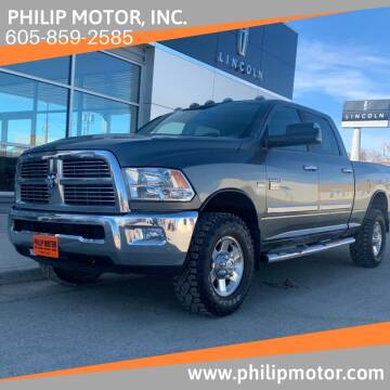 2010 Dodge Ram Pickup 2500 for sale at Philip Motor Inc in Philip SD