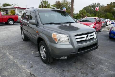 2007 Honda Pilot for sale at J Linn Motors in Clearwater FL