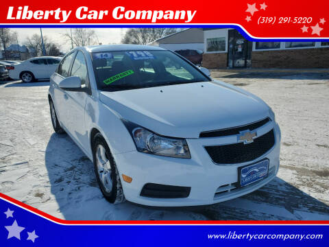2014 Chevrolet Cruze for sale at Liberty Car Company in Waterloo IA