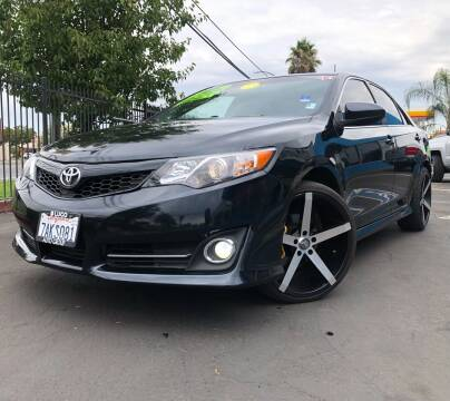 2013 Toyota Camry for sale at LUGO AUTO GROUP in Sacramento CA