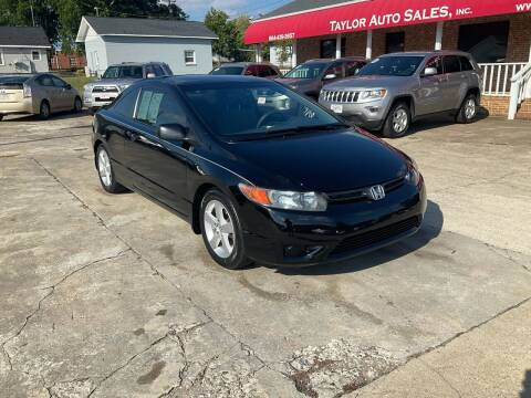 2008 Honda Civic for sale at Taylor Auto Sales Inc in Lyman SC