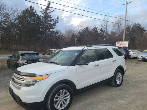 2013 Ford Explorer for sale at B & B GARAGE LLC in Catskill NY
