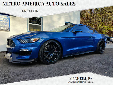 2017 Ford Mustang for sale at METRO AMERICA AUTO SALES of Manheim in Manheim PA