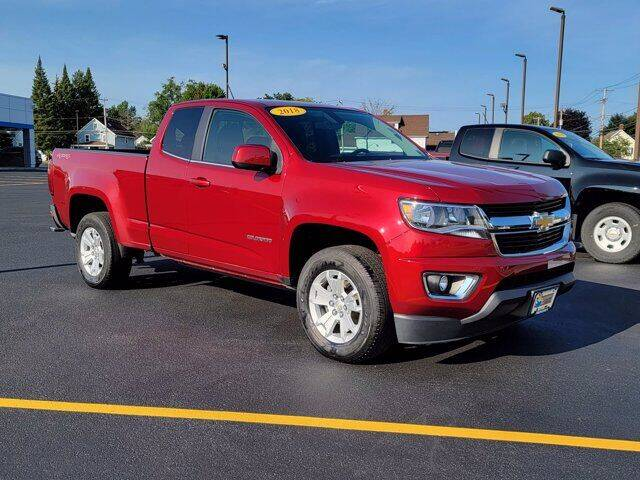 2018 Chevrolet Colorado for sale at Frenchie's Chevrolet and Selects in Massena NY
