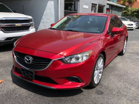 2014 Mazda MAZDA6 for sale at Meru Motors in Hollywood FL