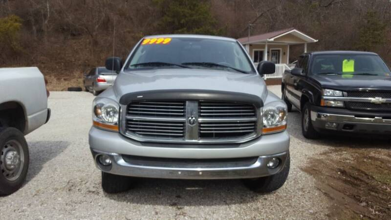 2006 Dodge Ram Pickup 1500 for sale at ROUTE 68 PRE-OWNED AUTOS & RV'S LLC in Parkersburg WV