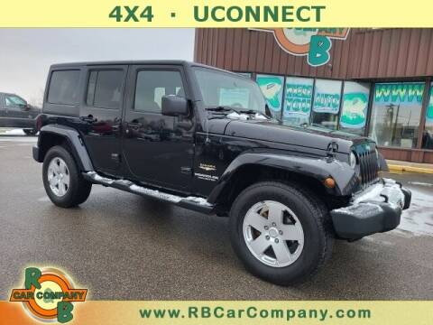 2012 Jeep Wrangler Unlimited for sale at R & B Car Company in South Bend IN