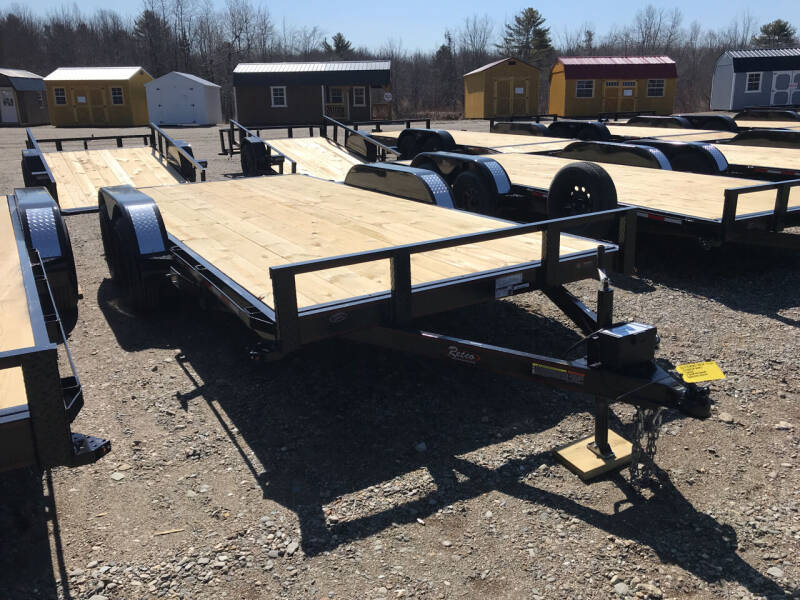 2021 Rettig 16ftFlatbed  for sale at Greg's Auto Sales in Searsport ME