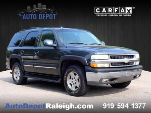 2004 Chevrolet Tahoe for sale at The Auto Depot in Raleigh NC