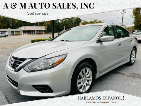 2017 Nissan Altima for sale at A & M Auto Sales, Inc in Alabaster AL