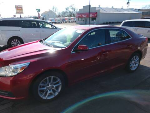 2014 Chevrolet Malibu for sale at Economy Motors in Muncie IN