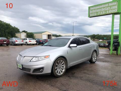 2010 Lincoln MKS for sale at Independent Auto in Belle Fourche SD