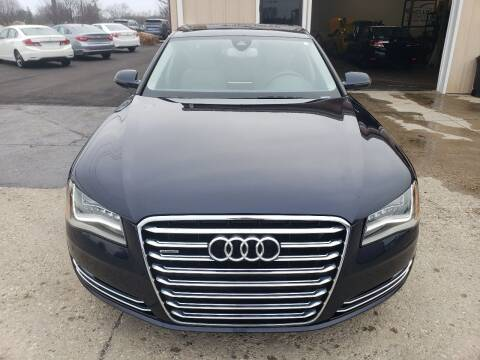2014 Audi A8 L for sale at Exclusive Automotive in West Chester OH