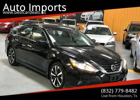 2016 Nissan Altima for sale at Auto Imports in Houston TX
