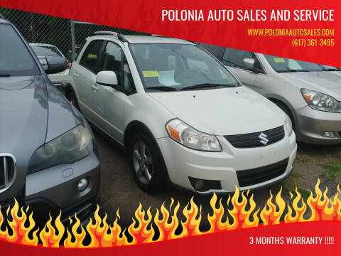 2009 Suzuki SX4 Crossover for sale at Polonia Auto Sales and Service in Hyde Park MA