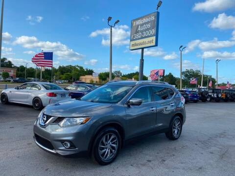 2015 Nissan Rogue for sale at Michaels Autos in Orlando FL