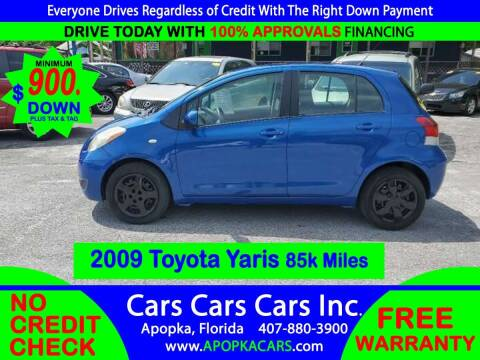 2009 Toyota Yaris for sale at CARS CARS CARS INC in Apopka FL