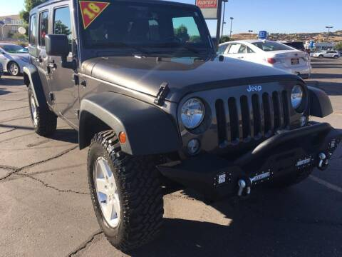 2018 Jeep Wrangler JK Unlimited for sale at Painter's Mitsubishi in Saint George UT