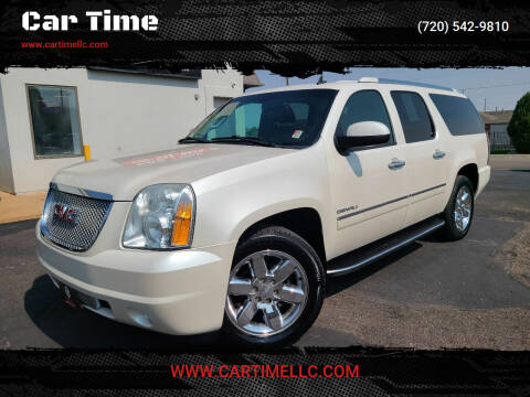 2012 GMC Yukon XL for sale at Car Time in Denver CO