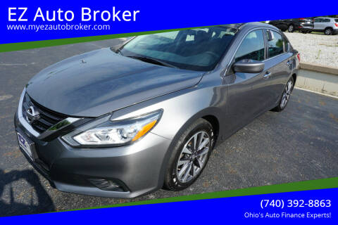 2017 Nissan Altima for sale at EZ Auto Broker in Mount Vernon OH