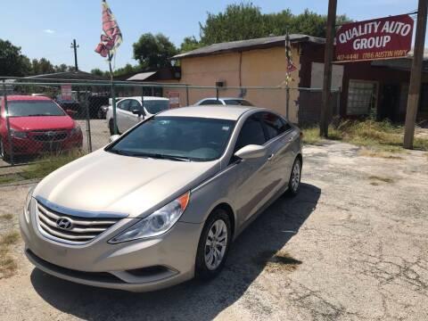 2011 Hyundai Sonata for sale at Quality Auto Group in San Antonio TX