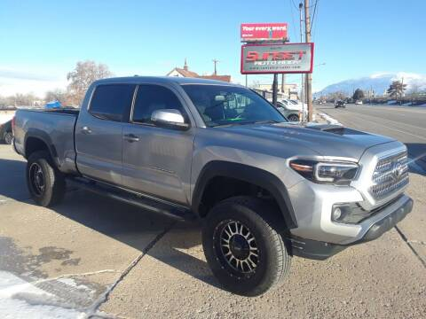 2017 Toyota Tacoma for sale at Sunset Auto Body in Sunset UT