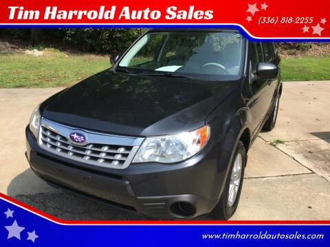 2012 Subaru Forester for sale at Tim Harrold Auto Sales in Wilkesboro NC
