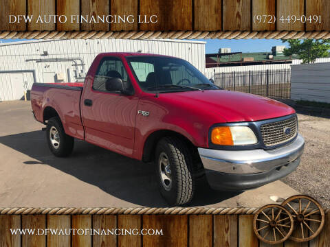 2004 Ford F-150 Heritage for sale at DFW AUTO FINANCING LLC in Dallas TX