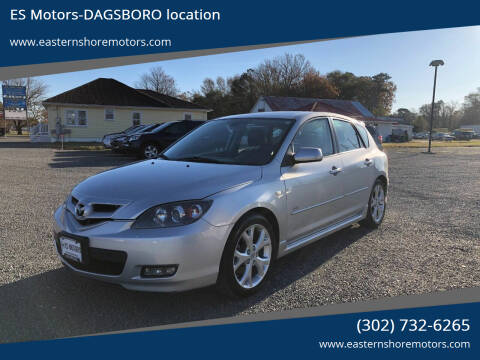 2009 Mazda MAZDA3 for sale at ES Motors-DAGSBORO location in Dagsboro DE