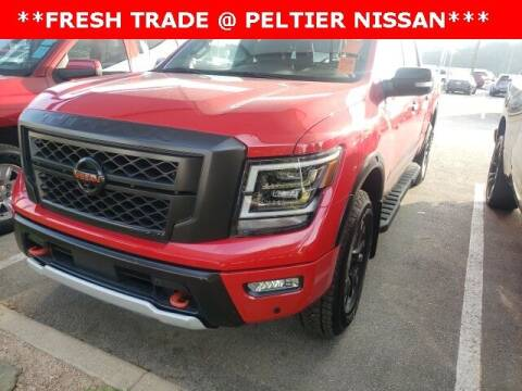 2020 Nissan Titan for sale at TEX TYLER Autos Cars Trucks SUV Sales in Tyler TX
