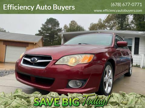 2009 Subaru Legacy for sale at Efficiency Auto Buyers in Milton GA