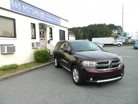 2012 Dodge Durango for sale at S & S Motors in Marietta GA